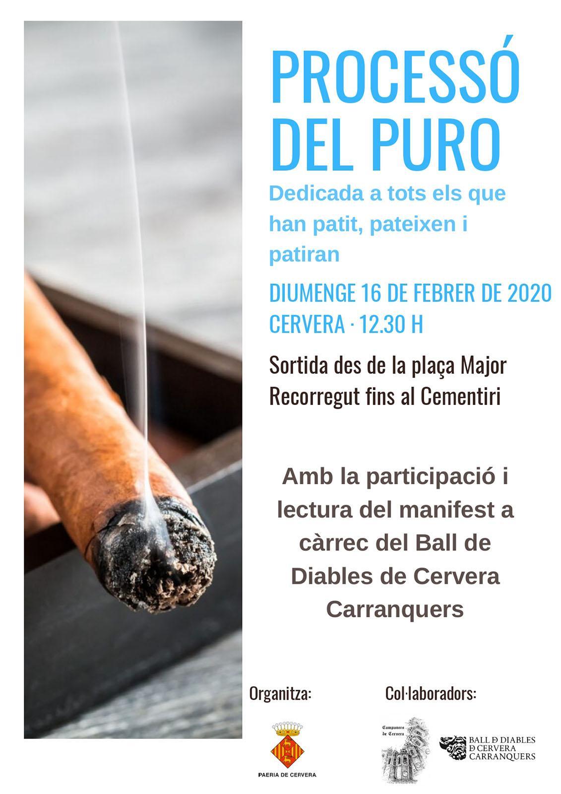 cartell Processó del Puro 2020