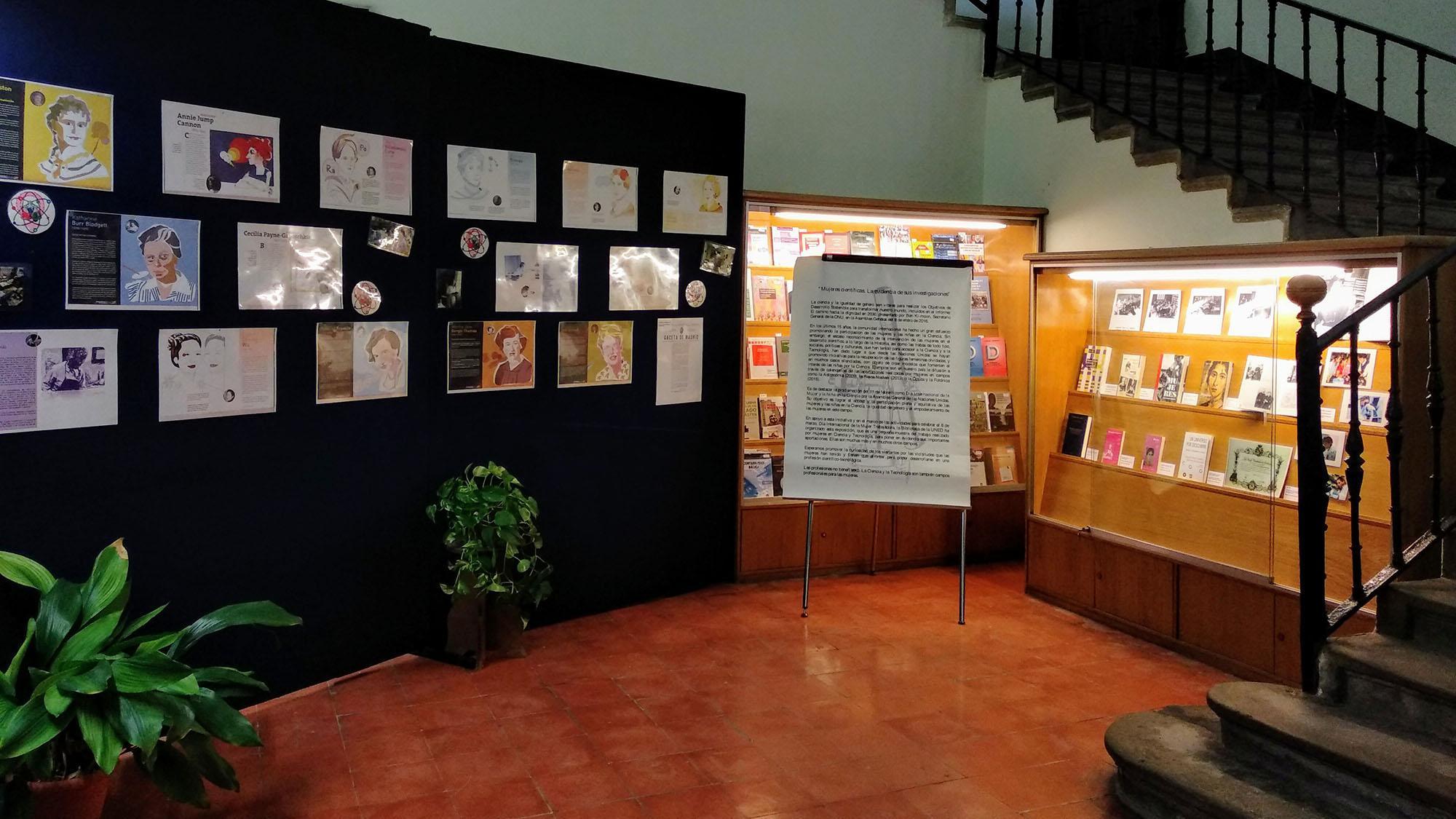 cartell Exposició 'Dones científiques: l'evidència de les seves investigacions'