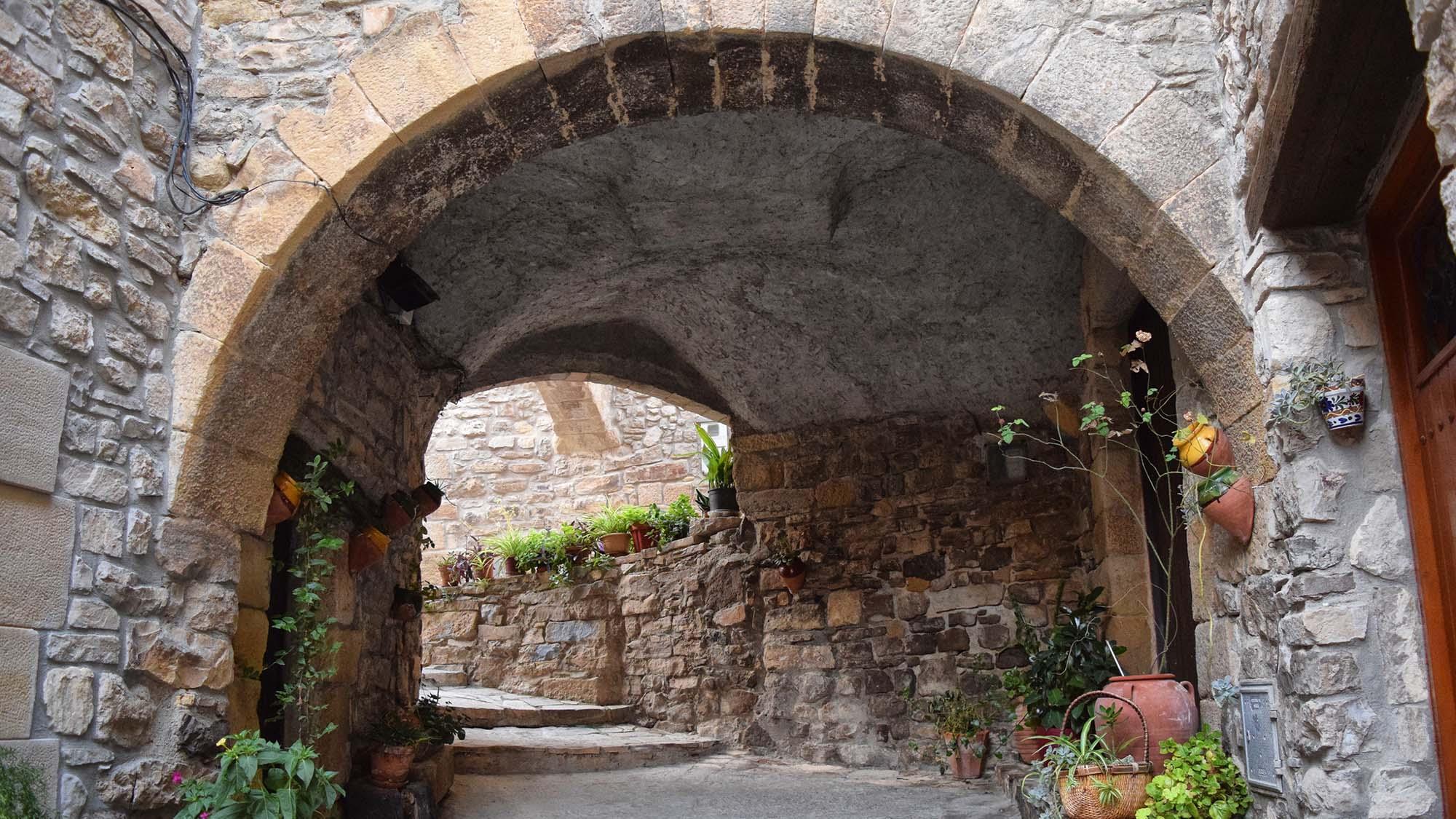 Casco antiguo Carrers coberts
