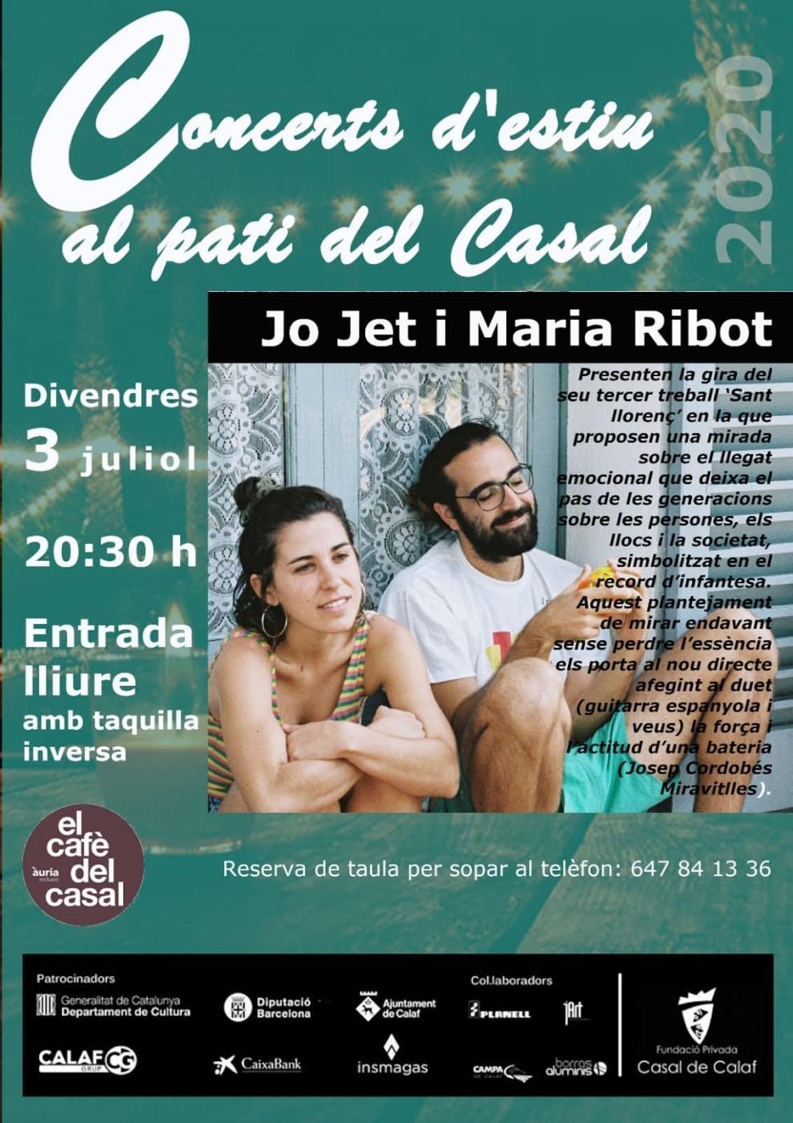 Concert de Jo Jet i Maria Ribot