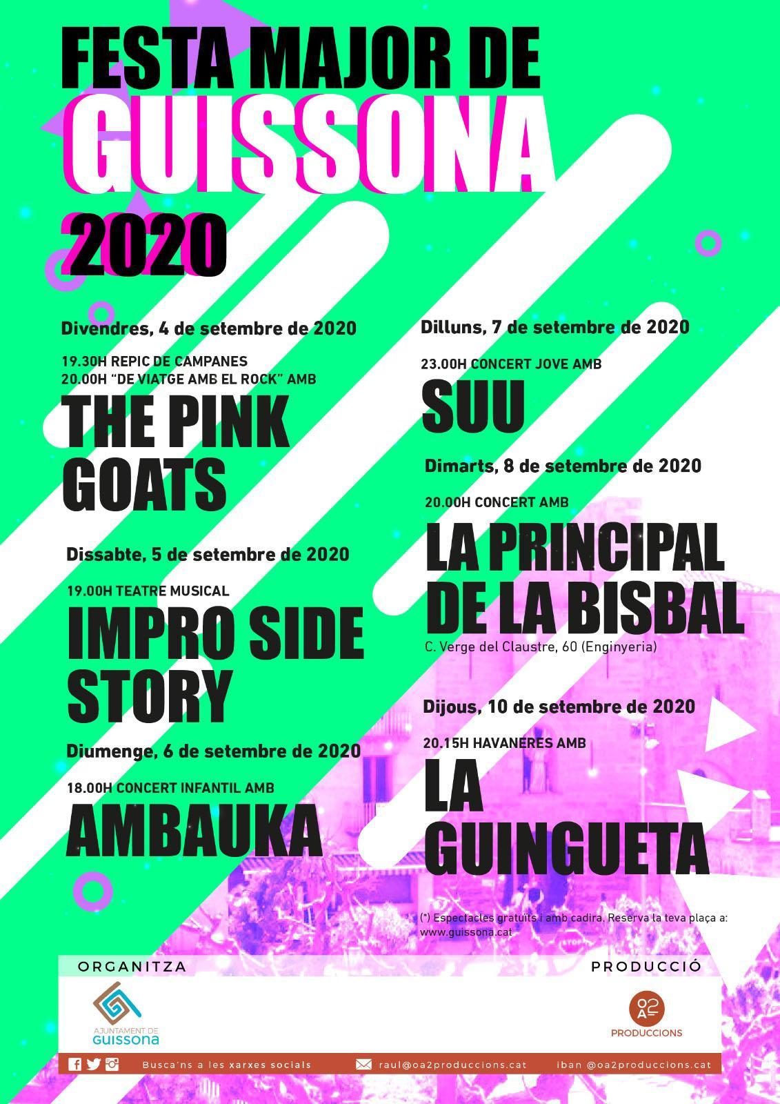 Festa Major de Guissona 2020