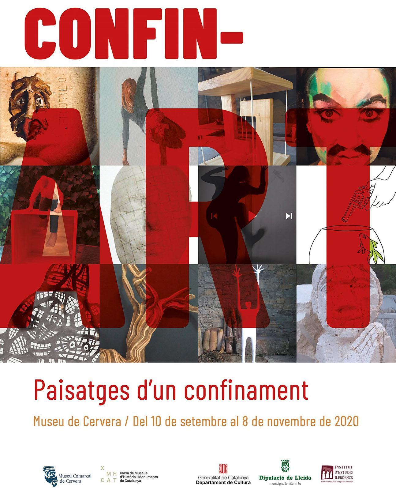 Exposició 'CONFIN-ART, Paisatges d'un confinament'