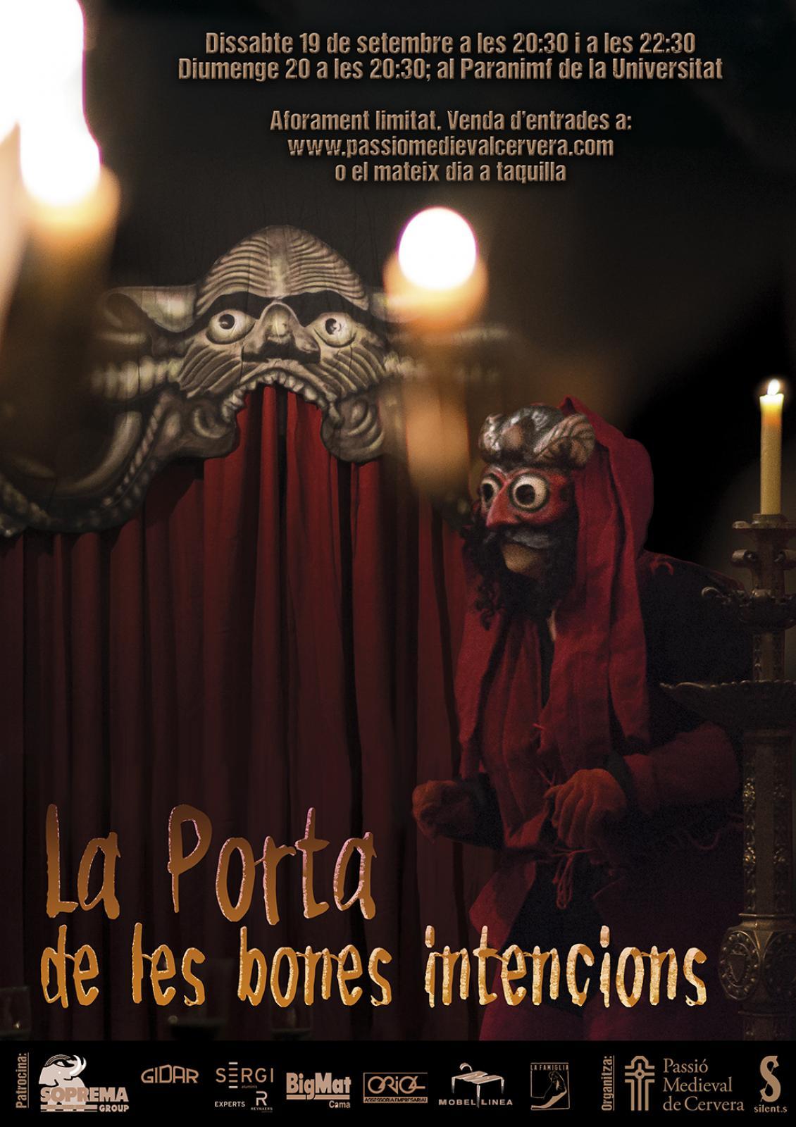 cartell La Porta de les Bones Intencions