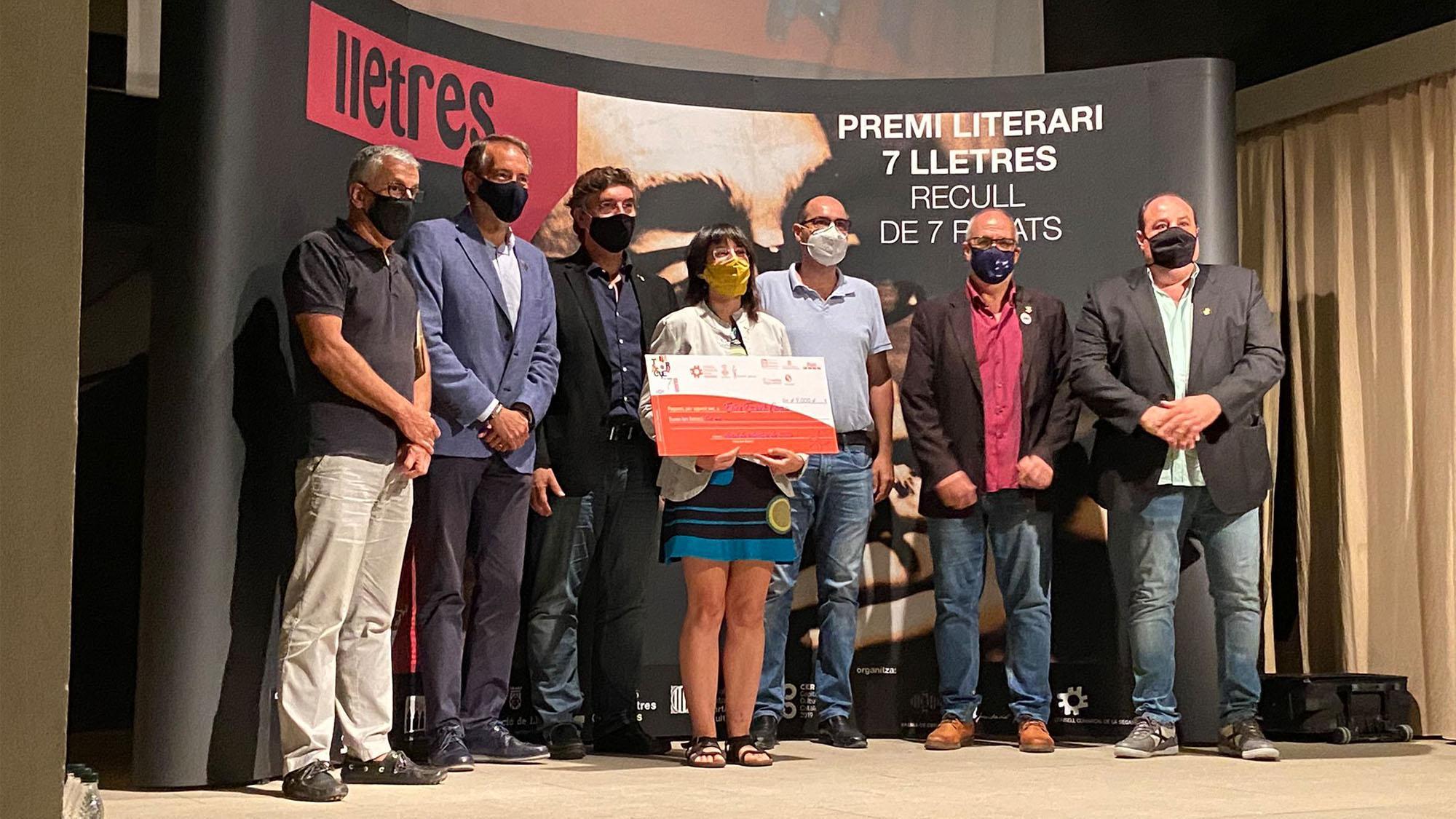 La segarrenca Ester Enrich Coma guanya la 15a edició del Premi 7lletres
