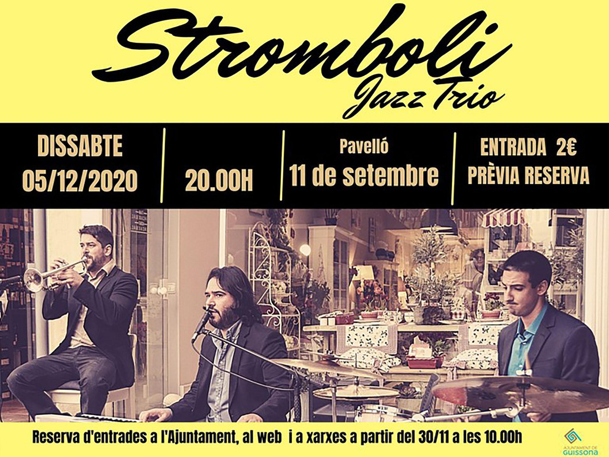 Concert de Stromboli Jazz Trio