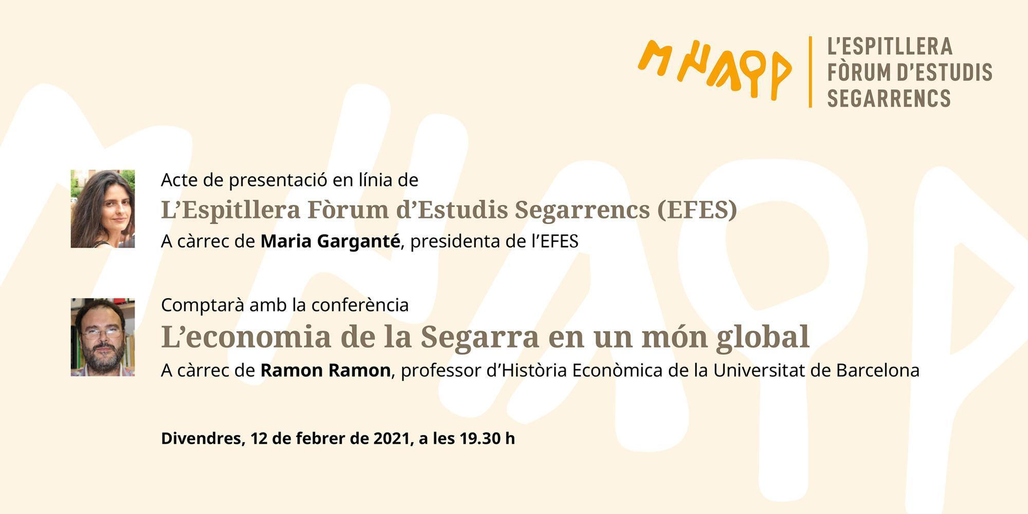 Presentació en línia de la nova entitat l'Espitllera Fòrum d'Estudis Segarrencs