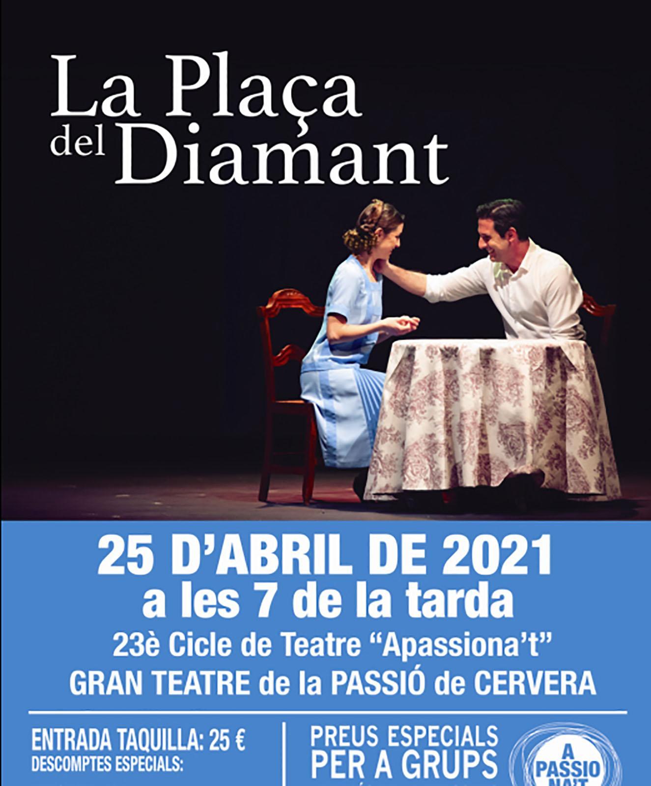 Teatre 'La plaça del Diamant'