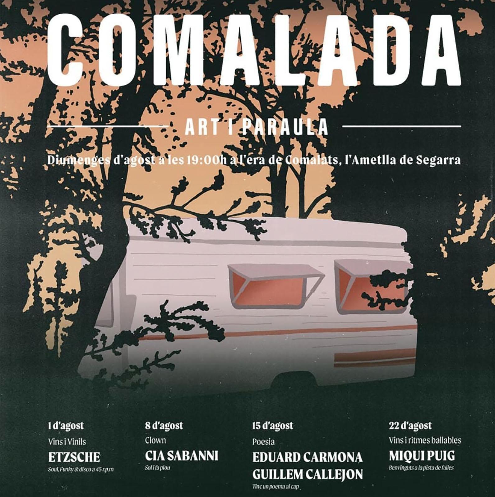 cartell Comalada Art i Paraula 2021