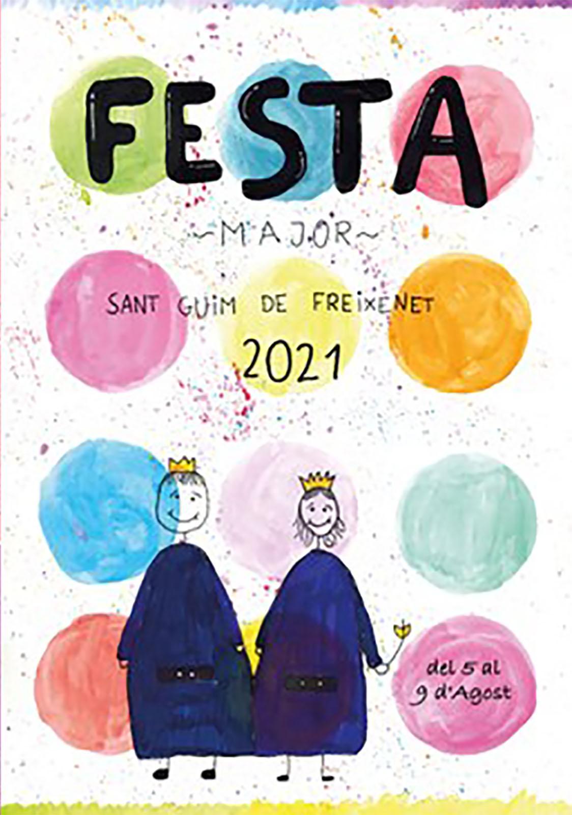 cartell Festa Major de Sant Guim de Freixenet 2021